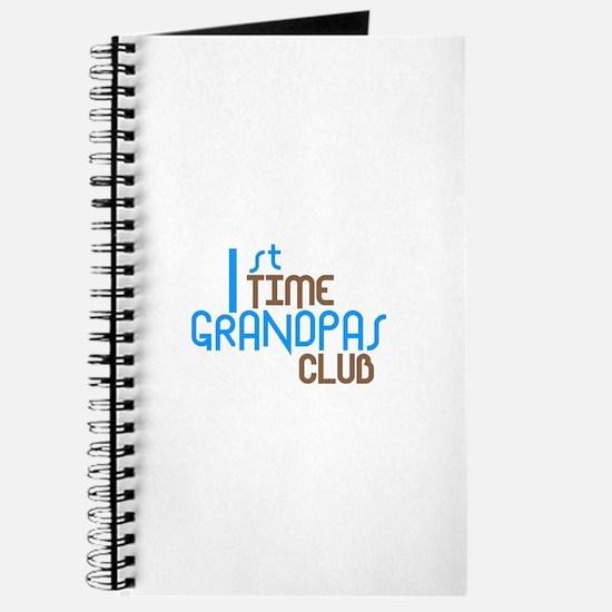 1st Time Grandpas Club (Blue) Journal