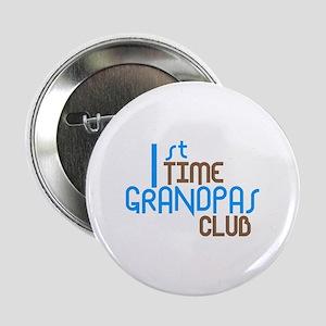 """1st Time Grandpas Club (Blue) 2.25"""" Button"""