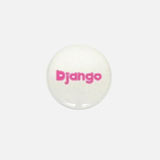 """Django"" Mini Button"
