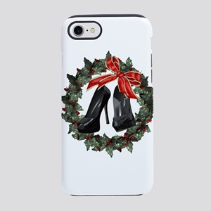 Black Stiletto Holiday Shoes W iPhone 7 Tough Case