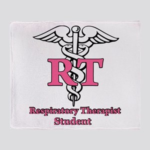Respiratory Therapy Student Throw Blanket
