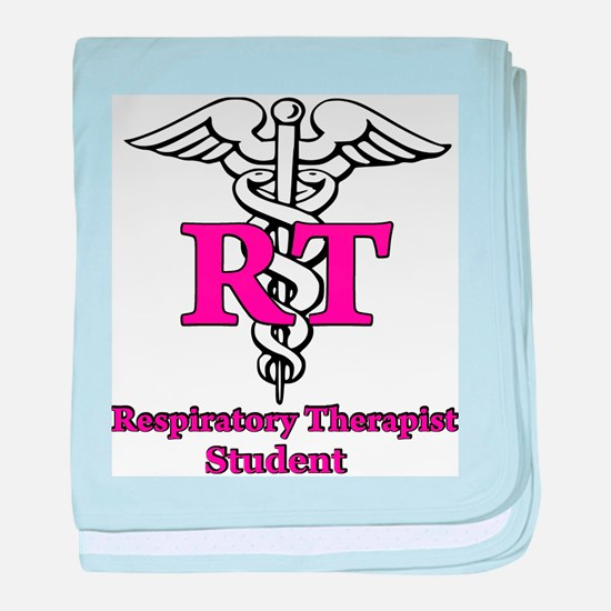 Respiratory Therapy Student baby blanket