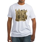 Steampunk Dreams Fitted T-Shirt