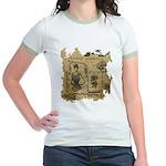 Steampunk Dreams Jr. Ringer T-Shirt