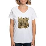Steampunk Dreams Women's V-Neck T-Shirt