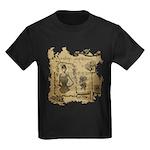 Steampunk Dreams Kids Dark T-Shirt