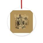 Steampunk Dreams Ornament (Round)