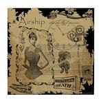 Steampunk Dreams Tile Coaster