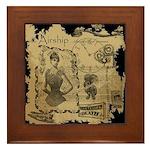 Steampunk Dreams Framed Tile