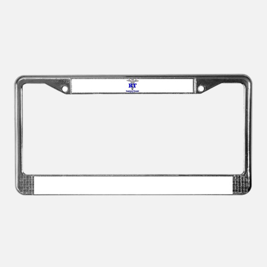 Respiratory Therapy Student License Plate Frame