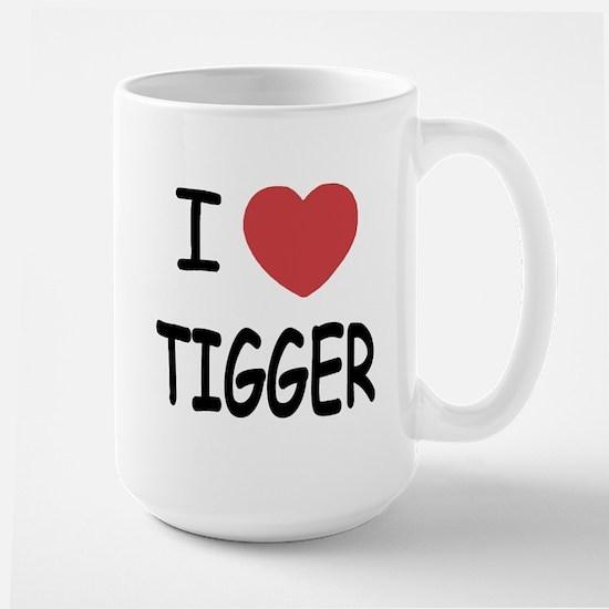 I heart tigger Large Mug