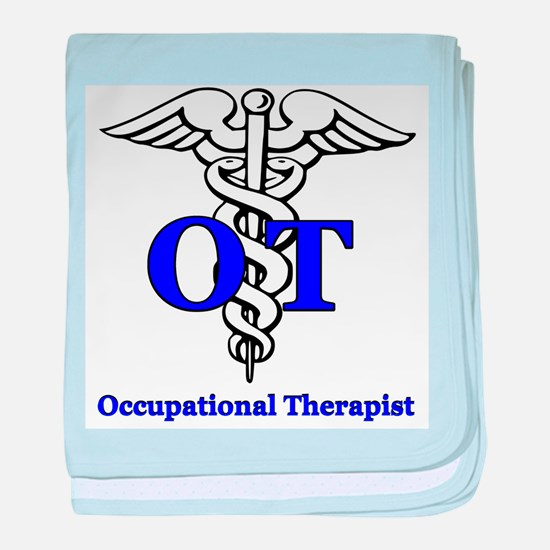 Cute Occupational therapy baby blanket