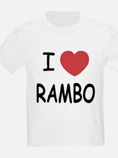 I heart rambo T-Shirt