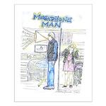 Megaphone Man Small Poster