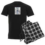 Megaphone Man Men's Dark Pajamas