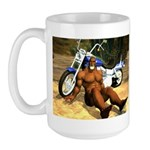 Big Biker Joe Large Mug