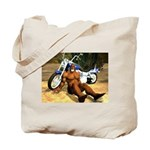 Big Biker Joe Tote Bag