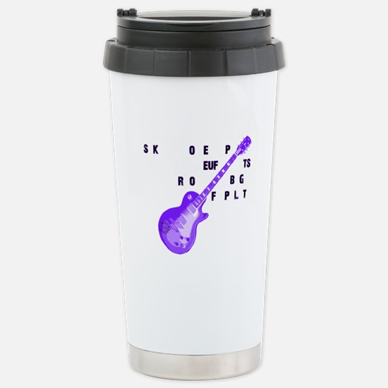 SCOPISTS ROCK! Stainless Steel Travel Mug