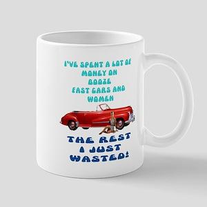 Booze,Cars and Women Mug