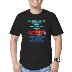 Booze,Cars and Women Men's Fitted T-Shirt (dark)