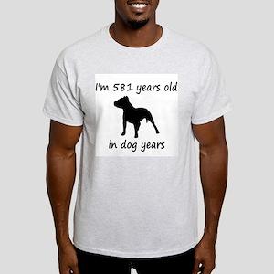 83 Dog Years Pitbull 1 T-Shirt