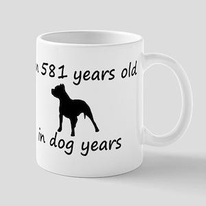 83 Dog Years Pitbull 2 Mugs