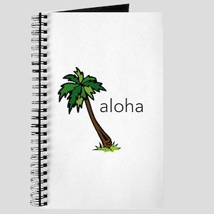 Aloha Palm Tree Journal