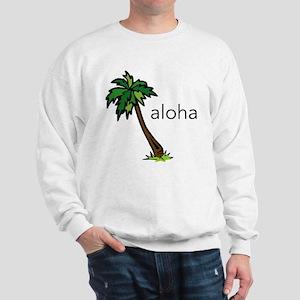 Aloha Palm Tree Sweatshirt