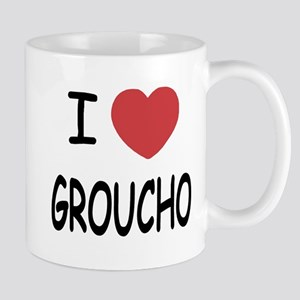 I heart groucho Mug