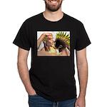 Electric Kiss Black T-Shirt