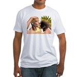 Electric Kiss Fitted T-Shirt