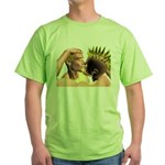 Electric Kiss Green T-Shirt