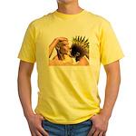 Electric Kiss Yellow T-Shirt