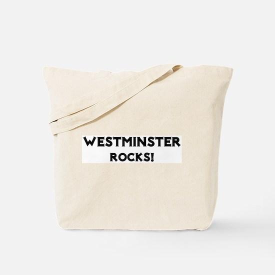 Westminster Rocks! Tote Bag