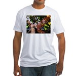 Fire Faerie Fitted T-Shirt