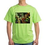 Fire Faerie Green T-Shirt