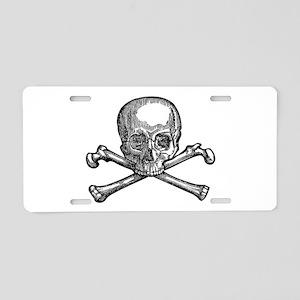 Masonic Skull Aluminum License Plate
