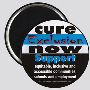 Cure Exclusion Magnet