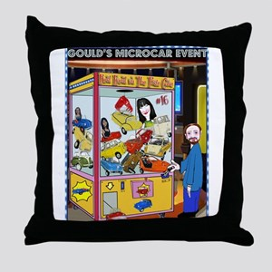 Gould's Sixteenth Annual Micr Throw Pillow