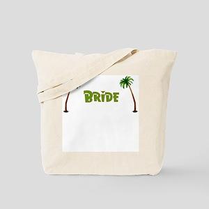 Tropical Bride Tote Bag