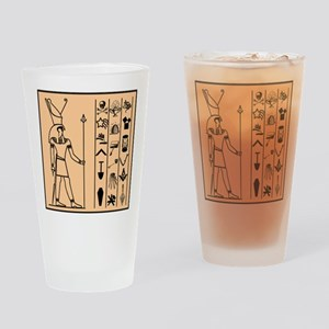 Hiram Pint Glass