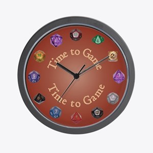 Time to Game Wall Clock