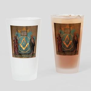 Holy Saints John Pint Glass