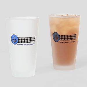 Masonic Drinking Glass