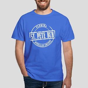 St Pete Bch Title Dark T-Shirt