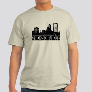Jacksonville Skyline Light T-Shirt