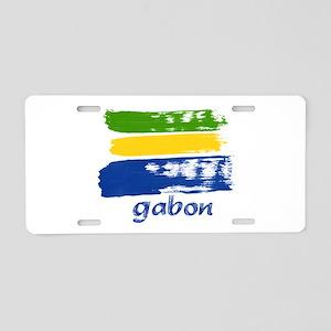 Gabon Aluminum License Plate