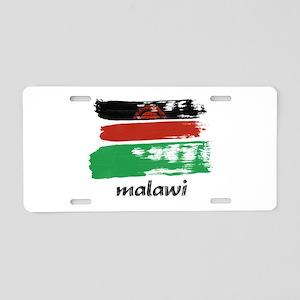 Malawi Aluminum License Plate