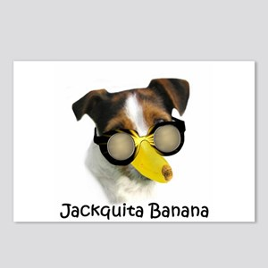 Jackquita Banana Postcards (Package of 8)