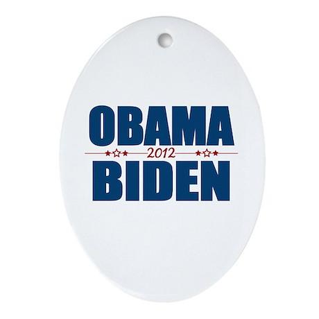Obama Biden 2012 Ornament (Oval)
